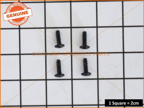 4 x SAMSUNG TV GUIDE TO TV SCREW M4 L2 PART # 6003-001782