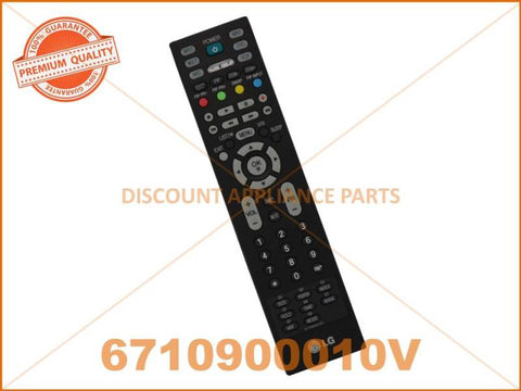 LG TV REMOTE CONTROL PART # 6710900010V # MKJ32022833 # 6710900010C # AKB69680403