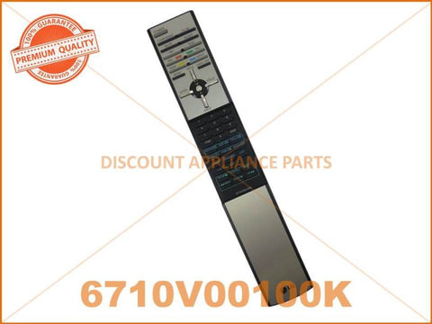 LG TV REMOTE CONTROL PART # 6710V00100K