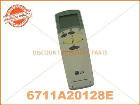 LG AIR CONDITIONER REMOTE PART # 6711A20128E # AKB74375404
