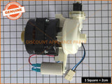 DISHWASHER MOTOR SUITS SMEG OMEGA DELONGHI & MIDEA PART # 672050250049