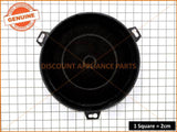 CHEF RANGEHOOD ROUND CHARCOAL FILTER PART # 72215557