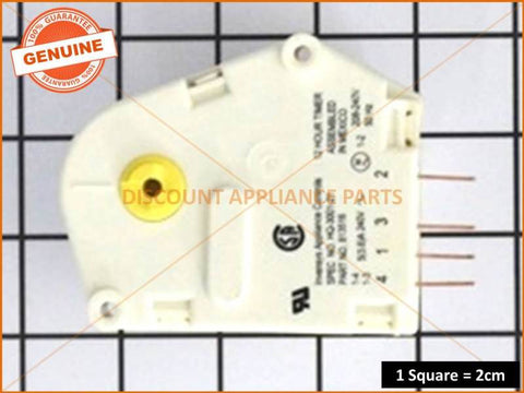 FISHER & PAYKEL REFRIGERATOR DEFROST TIMER PART # 813516P