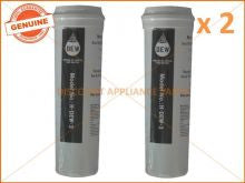 2 x FISHER & PAYKEL REFRIGERATOR QUALITY REPLACEMENT WATER FILTER 836860 836848 DEW-3