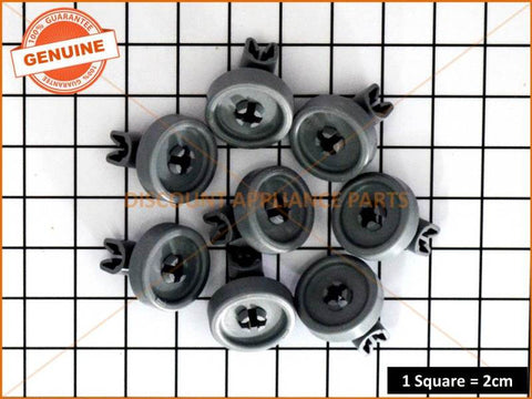 ASKO DISHWASHER LOWER BASKET WHEEL KIT (PACK OF 8) PART # 273098 8801336-77 441305