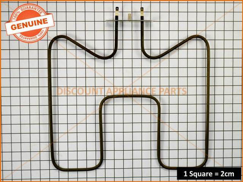 TECHNIKA BOTTOM OVEN ELEMENT IM12-02 PART # 945510