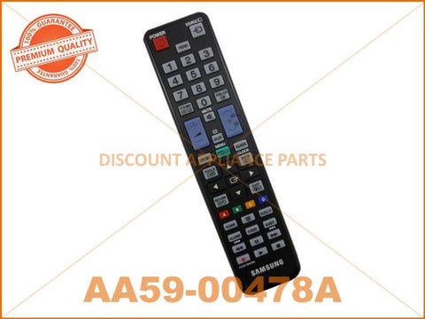 SAMSUNG TV REMOTE CONTROL PART # AA59-00478A