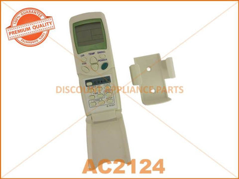 UNIVERSAL AIR CONDITIONER REMOTE CONTROL PART # AC2124