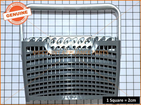 DISHLEX WESTINGHOUSE ELECTROLUX DISHWASHER CUTLERY BASKET GREY FITS MOST DISHWASHERS PART # ACC107