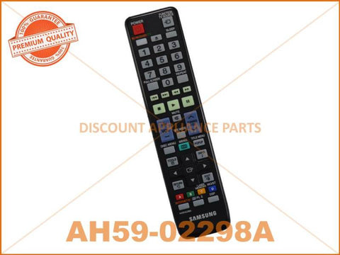 SAMSUNG HOME THEATRE REMOTE CONTROL PART # AH59-02298A