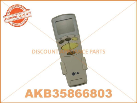 LG AIR CONDITIONER REMOTE CONTROL PART # 6711A90031Y # 6711A90032N # AKB35866803 #AKB74375404