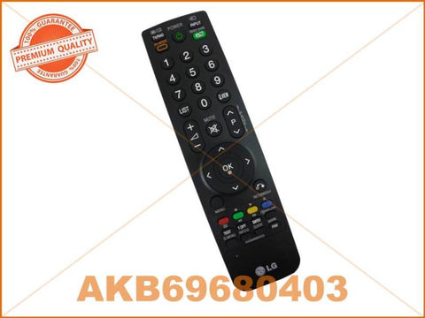 LG TV REMOTE CONTROL PART # AKB69680403 # AKB72915207 # AKB73655804 # AKB69680438
