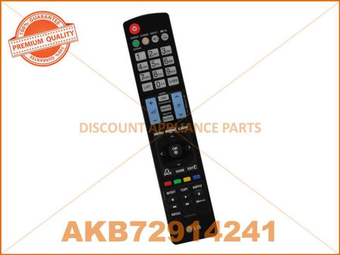 LG TV REMOTE CONTROL PART # AKB72914241 # AKB69680403