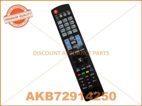 LG TV REMOTE CONTROL PART # AKB72914250 # AKB72914039 # AKB74115502