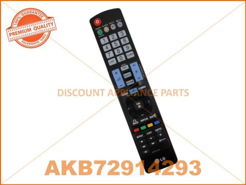 LG TV REMOTE CONTROL PART # AKB72914293 # AKB72914241 # AKB72914209 # AKB69680403