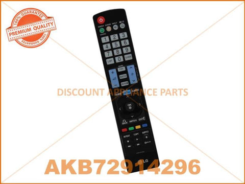 LG TV REMOTE CONTROL PART # AKB72914296 # AKB72914293 # AKB74115502 # AKB72914209