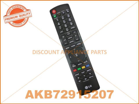 LG TV REMOTE CONTROL PART # AKB72915207 # AKB72914293 # MKJ61841804 # AKB72914241