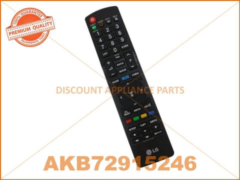 LG TV REMOTE CONTROL PART # AKB72915246 # AKB73275652 # AKB74115502