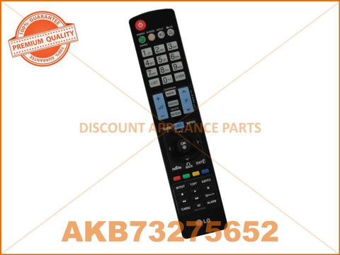 LG TV REMOTE CONTROL PART # AKB73275652 # AKB72915246 # AKB74115502