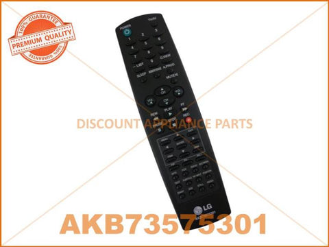 LG TV REMOTE CONTROL PART # AKB73575301