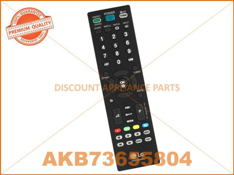 LG TV REMOTE CONTROL PART # AKB73655804 # AKB72915207 # AKB69680403 # AKB74115502