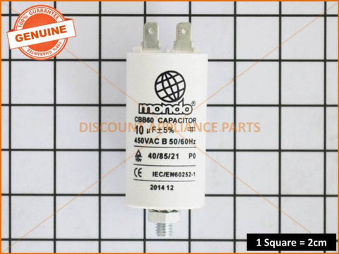 SIMPSON MOTOR START CAPACITOR 10uf PART # BEN009