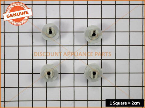 DISHLEX KELVINATOR WESTINGHOUSE DISHWASHER WHEEL & AXLE UPPER BASKET (PACK OF 4)  PART # C828103XK