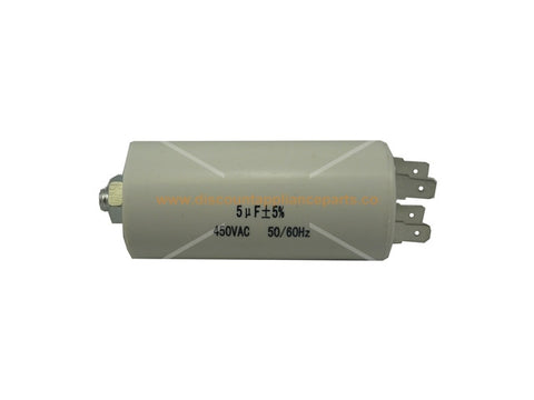 UNIVERSAL WASHING MACHINE CAPACITOR 5UF PART # CA005