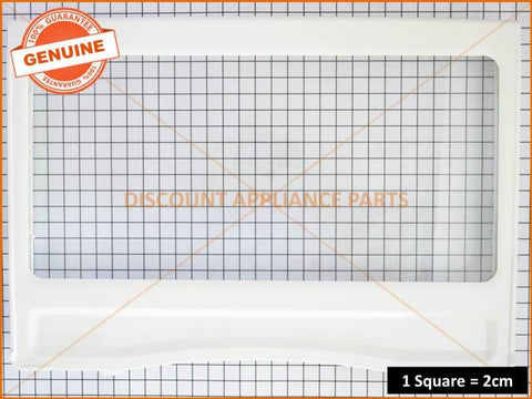 SAMSUNG REFRIGERATOR VEGETABLE CRISPER COVER PART # DA63-04811C