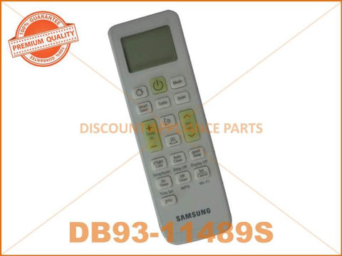 SAMSUNG AIR CONDITIONER WIRELESS REMOTE CONTROL PART # DB93-11489S