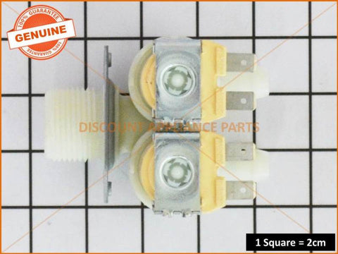 SAMSUNG WASHING MACHINE DUAL INLET VALVE PART # DC62-00024F