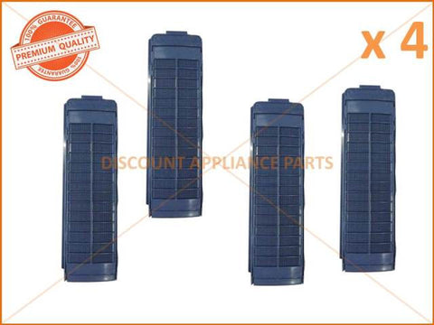 4 x SAMSUNG WASHING MACHINE LINT FILTER PART # DC97-00114M DC97-00114J