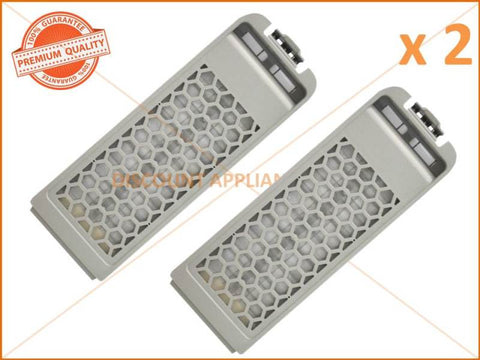 2 x SAMSUNG WASHING MACHINE FILTER ASSY PART # DC97-16513A DC97-16513C