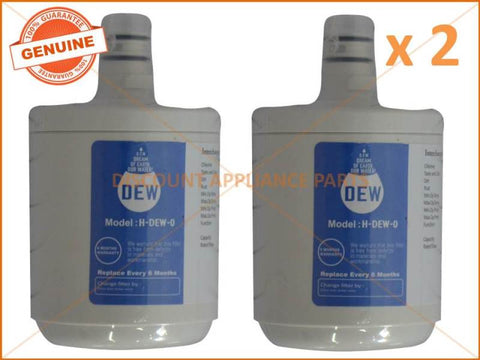 2 x LG REFRIGERATOR QUALITY REPLACEMENT 5231JA2002A WATER FILTER