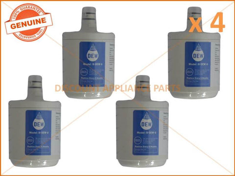 4 x LG REFRIGERATOR QUALITY REPLACEMENT 5231JA2002A WATER FILTER