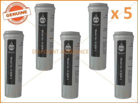 5 x FISHER & PAYKEL REFRIGERATOR QUALITY REPLACEMENT WATER FILTER 836860 836848