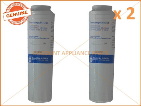 2 x MAYTAG WHIRLPOOL REFRIGERATOR QUALITY REPLACEMENT WATER FILTER UKF8001AXX