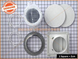 SIMPSON WESTINGHOUSE ELECTROLUX DRYER VENTING KIT THRU WALL PART # DVK005