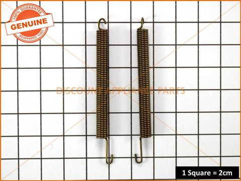 CHEF OVEN DOOR SPRINGS (PACKET OF 2) PART # DWK001