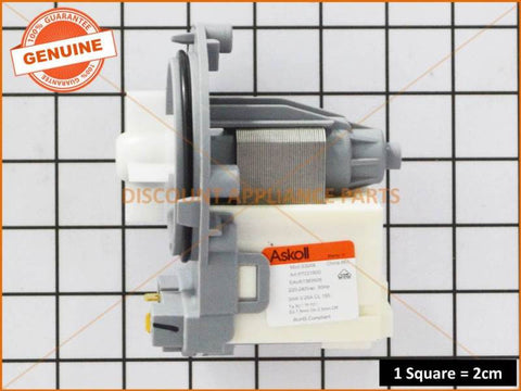 LG WASHING MACHINE DRAIN PUMP PART # EAU61383505