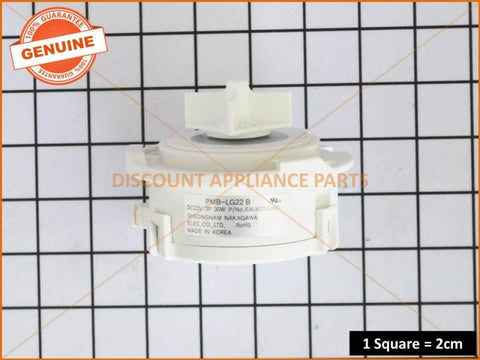 LG DISHWASHER MOTOR PUMP ASSEMBLY PART # EAU62043401