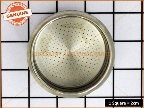 SUNBEAM CAFE SERIES COFFEE MACHINE 2 CUP FILTER PART # EM58104**NO LONGER AVAILABLE-NOW USE PART NUMBER EM28009**