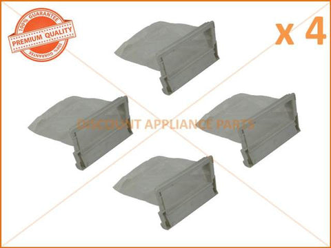 4 x FISHER & PAYKEL HAIER WASHING MACHINE LINT FILTER PART # H00330101843A