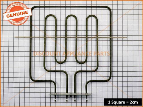 TECHNIKA OVEN ELEMENT DUAL 16CM BACK PLATE 945500 PART # 945500