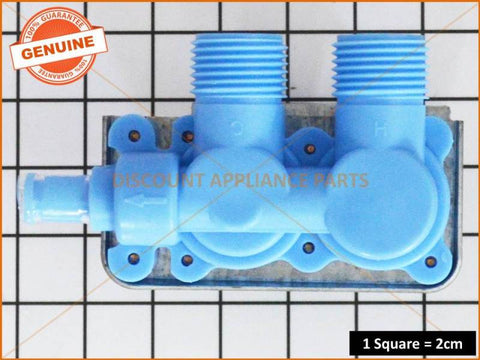 KLEENMAID WHIRLPOOL SPEED QUEEN WASHING MACHINE DOUBLE INLET WATER VALVE PART # J006