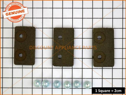 KLEENMAID SPEED QUEEN WASHING MACHINE BRAKE PAD KIT PART # KS735P3