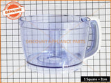 SUNBEAM FOOD PROCESSOR BOWL PART # LC69127