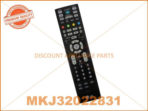 LG TV REMOTE CONTROL PART # MKJ32022832 # MKJ32022831 # MKJ32022813 # AKB74115502