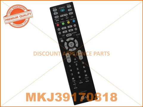 LG TV REMOTE CONTROL PART # MKJ39170818 # 6710900010V # 6710900010C # AKB69680403