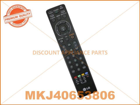 LG TV REMOTE CONTROL PART # MKJ40653806 AKB74115502